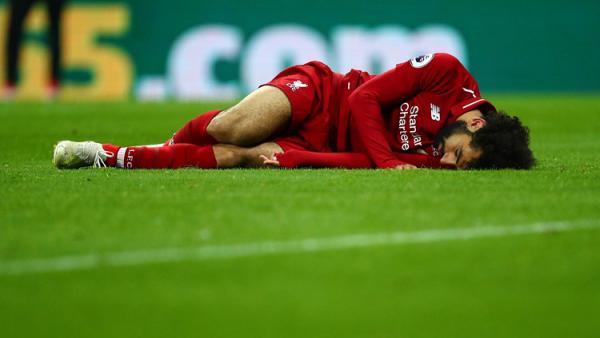 Mohamed Salah Diragukan Tampil Melawan Barcelona